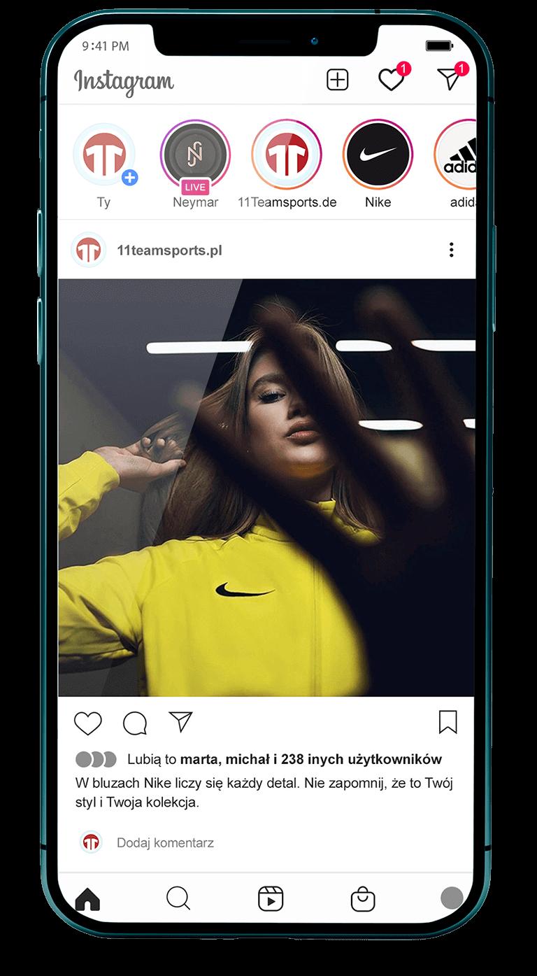 Reklama w social Media - marketing, reklama w mediach społecznościowych 11Teamsports