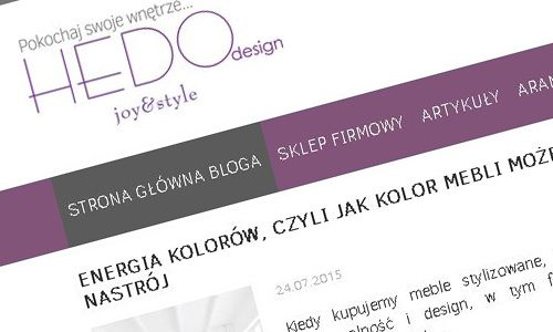 Hedodesign blog