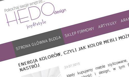 Hedodesign blog