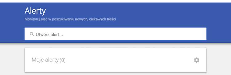 Alerty Google - Monitoring konkurencji