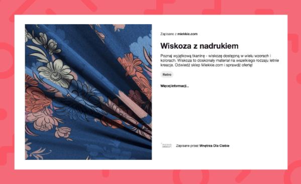 Pinterest - Wiskoza Miekkie.com