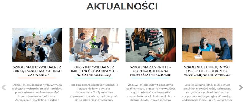 Optymalizacja zdjęć naportalu studioszkolen.pl