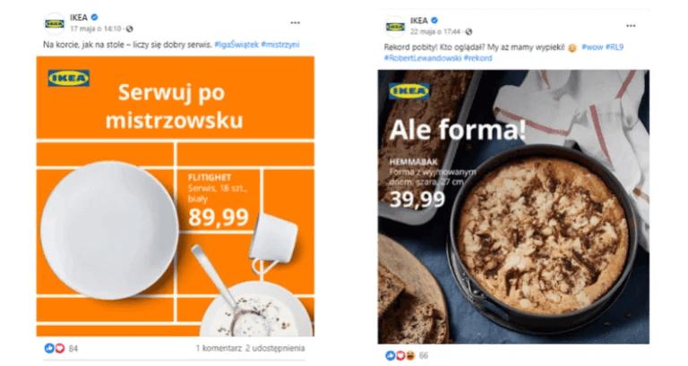 Social Media IKEA - Ciekawe posty naFacebooka