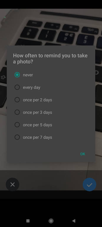 Darmowa aplikacja doinstastory - przypomnienia wTime Lapse Camera