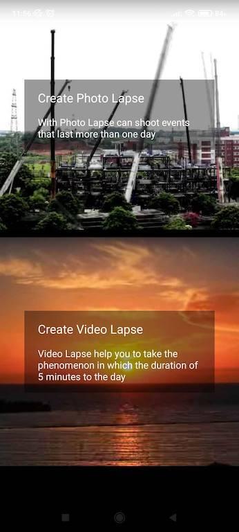 Darmowe aplikacje doinstastory - Time Lapse Camera ijej możliwości