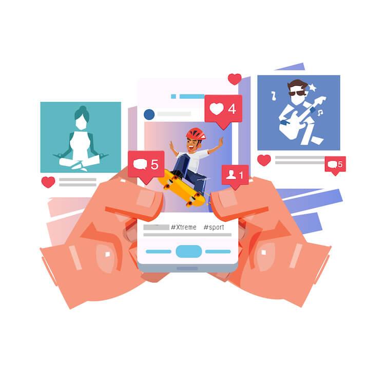 Jak pisać posty na Facebooku i Instagramie